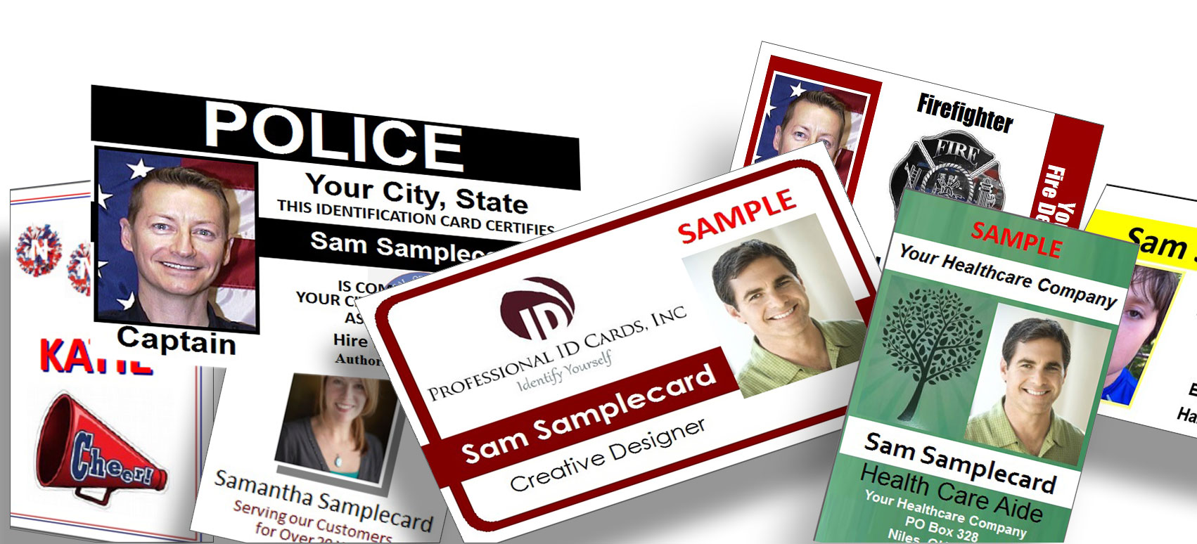 ID Badges Collage